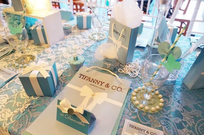 Kara's Party Ideas Tiffany & Co. Themed Birthday Party Via