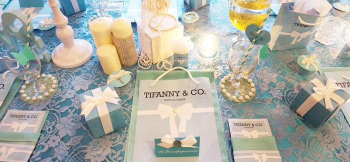 Kara S Party Ideas Tiffany Amp Co Themed Birthday Party