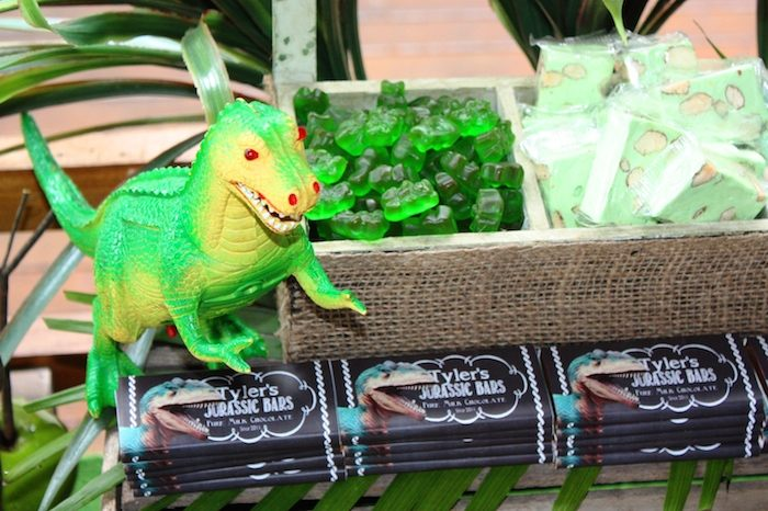 Party Ideas T-Rex Dinosaur themed birthday party via Karas Party ...