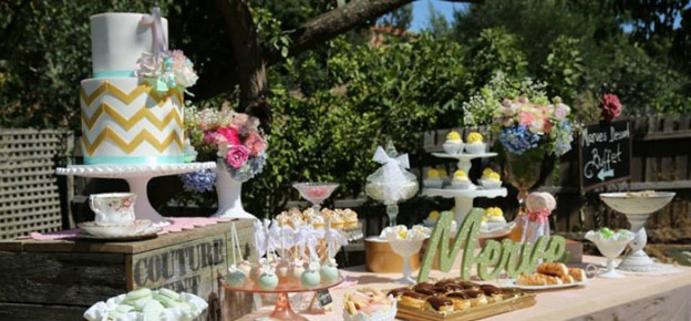 Vintage Rustic Garden themed birthday party with Lots of Really Cute Ideas via Kara's Party Ideas | Full of decorating tips, cakes, cupcakes, favors, games, and MORE! #gardenparty #vintagegardenparty #outdoorgardenparty #partyplanning #partystyling #partyideas (1)