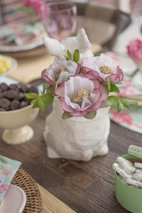 Shabby Chic Woodland Party with Such Cute Party Ideas via Kara's Party Ideas | Full of decorating ideas, cake, cupcakes, desserts, games, and MORE! KarasPartyIdeas.com #shabbychic #easterparty #springparty #woodlandparty #partydecor #partyplanning #partyideas (12)