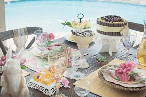 Shabby Chic Woodland Party with Such Cute Party Ideas via Kara's Party Ideas | Full of decorating ideas, cake, cupcakes, desserts, games, and MORE! KarasPartyIdeas.com #shabbychic #easterparty #springparty #woodlandparty #partydecor #partyplanning #partyideas (11)