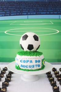 World Cup Soccer themed birthday party with Lots of Fabulous Ideas via Kara's Party Ideas | Cake, decor, desserts, games and more! KarasPartyIdeas.com #worldcup #soccerparty #worldcupparty #partyideas #partydecor #partyplanning (9)