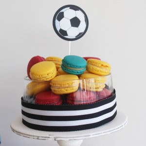 World Cup Soccer themed birthday party with Lots of Fabulous Ideas via Kara's Party Ideas | Cake, decor, desserts, games and more! KarasPartyIdeas.com #worldcup #soccerparty #worldcupparty #partyideas #partydecor #partyplanning (17)