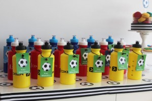 World Cup Soccer themed birthday party with Lots of Fabulous Ideas via Kara's Party Ideas | Cake, decor, desserts, games and more! KarasPartyIdeas.com #worldcup #soccerparty #worldcupparty #partyideas #partydecor #partyplanning (16)