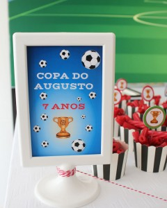 World Cup Soccer themed birthday party with Lots of Fabulous Ideas via Kara's Party Ideas | Cake, decor, desserts, games and more! KarasPartyIdeas.com #worldcup #soccerparty #worldcupparty #partyideas #partydecor #partyplanning (11)