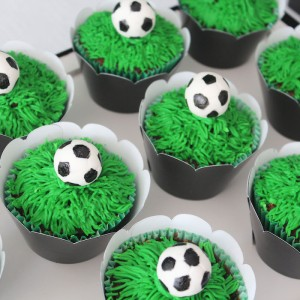 World Cup Soccer themed birthday party with Lots of Fabulous Ideas via Kara's Party Ideas | Cake, decor, desserts, games and more! KarasPartyIdeas.com #worldcup #soccerparty #worldcupparty #partyideas #partydecor #partyplanning (10)