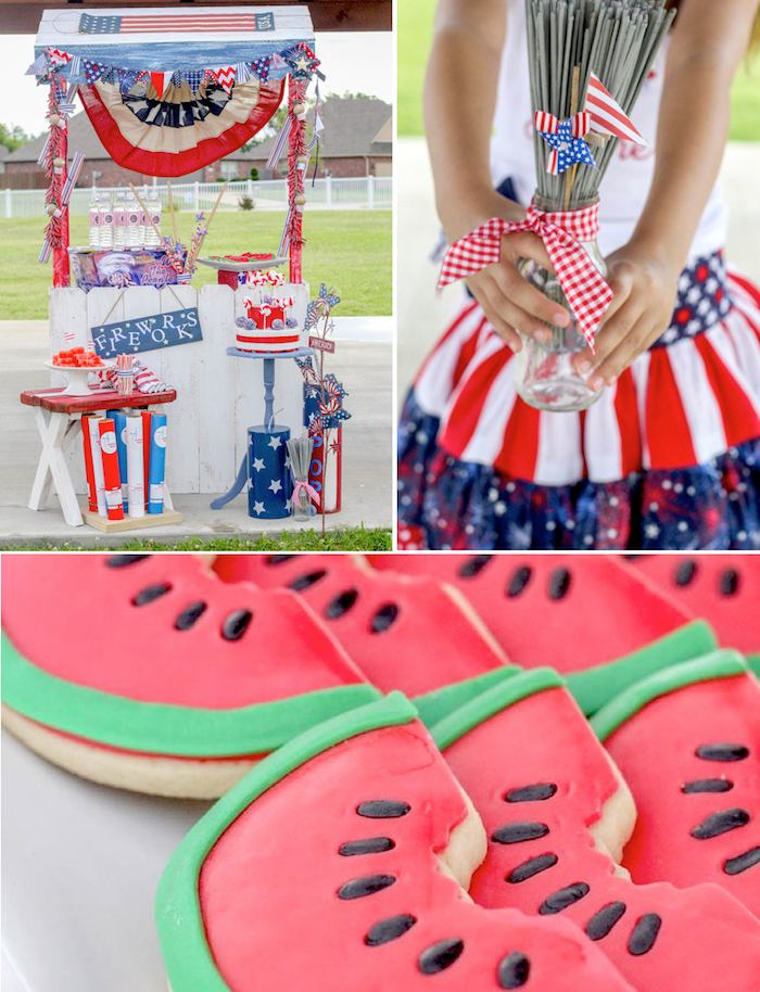 Kara 39 s party ideas glorious 4th of july outdoor party via for 4th of july decorating ideas for outside