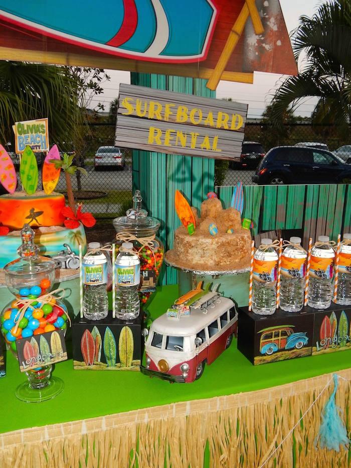 Kara S Party Ideas Disney S Teen Beach Movie Themed