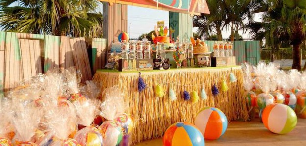 Disney's Teen Beach Movie with Lots of Really Fun Ideas themed birthday party via Kara's Party Ideas | Cake, decor, recipes, cupcakes, printables, favors, and MORE! #teenbeachmovie #beachparty #luau #surfing #surfparty #partydecor #partyideas #eventplanning #eventstyling #partyplanning (1)