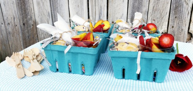 SUCH A CUTE Brunch in a Box Idea via Kara's Party Ideas | Cake, decor, recipes, favors, games, and MORE! KarasPartyIdeas.com #brunchparty #brunch #berrybaskets #partydecor #brunchrecipes #partyideas #partystyling #eventplanning (1)
