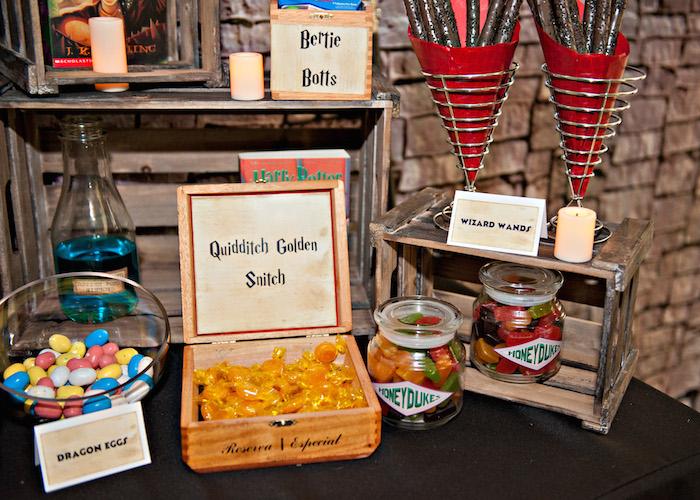 Harry Potter Themed Birthday Party With SO MANY AWESOME IDEAS Via Karas Ideas Full