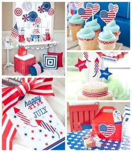 All American 4th of July Party with SUCH CUTE IDEAS via Kara's Party Ideas! Full of decorating ideas, favors, printables, cakes, games, and MORE! KarasPartyIdeas.com #4thofjuly #july4th #independenceday #fourthofjuly #redwhiteandblue #patrioticparty #partyideas #eventplanning #partydesign #partyplanning (1)