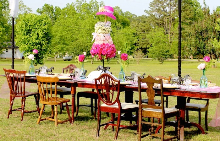 Karas Party Ideas Kentucky Derby Themed Party Bunko Night Via - Children's birthday parties derbyshire