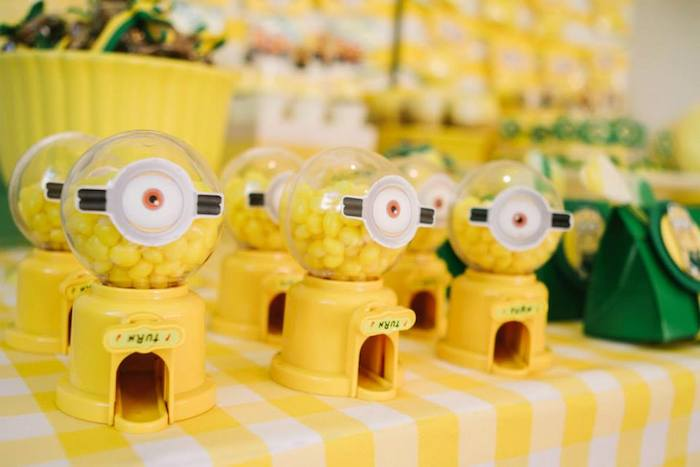 Diy Minion Birthday Party Games DIY Campbellandkellarteam