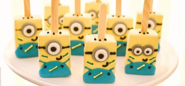 minion world cup birthday party via Kara's Party Ideas KarasPartyIdeas.com