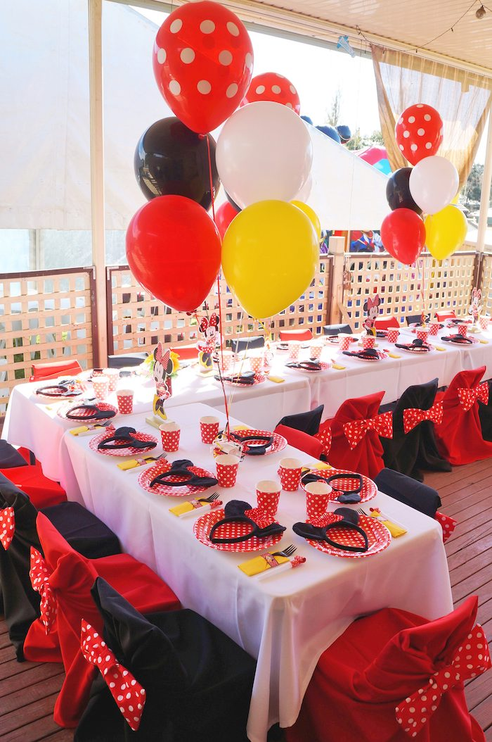 Breathtaking Mickey Mouse Table Set Up Pictures Best Image Engine