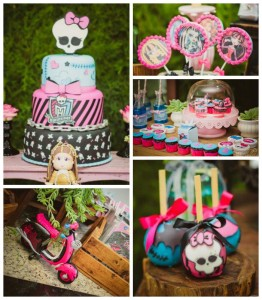 Monster High themed birthday party with so many fabulous ideas via Kara's Party Ideas! full of decorating ideas, cake, favors, games, decor, and more! KarasPartyIdeas.com #monsterhigh #monsterhighparty #partydecor #partyideas #eventstyling #partyplanning (2)