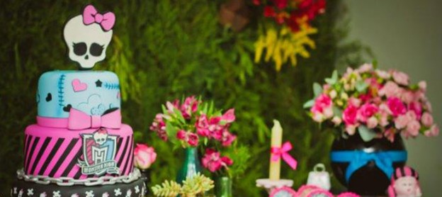 Monster High themed birthday party with so many fabulous ideas via Kara's Party Ideas! full of decorating ideas, cake, favors, games, decor, and more! KarasPartyIdeas.com #monsterhigh #monsterhighparty #partydecor #partyideas #eventstyling #partyplanning (1)