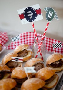 Vintage Motorcycle themed birthday party with So Many Cute Ideas via Kara's Party Ideas | Cake, decor, cupcakes, desserts, favors, games, and MORE! KarasPartyIdeas.com #motorcycleparty #motorcycles #partyplanning #partyideas #partydecor #partystyling (21)