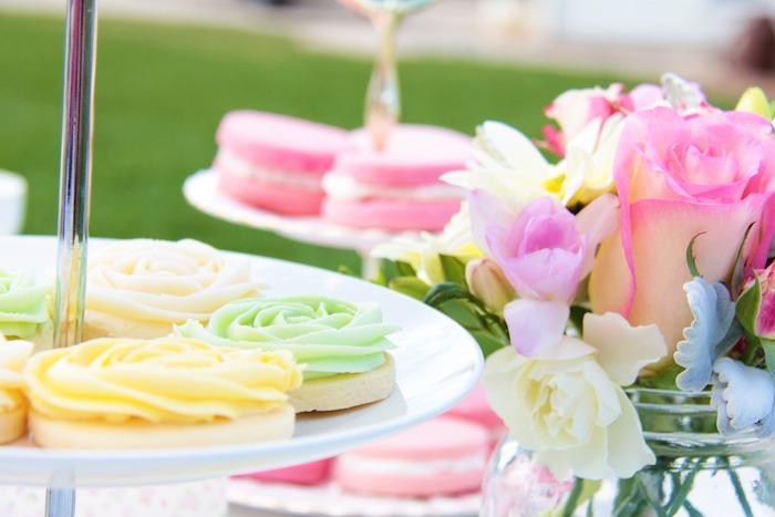 pastel baby shower via kara s party ideas full of decorating ideas