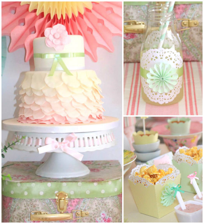 Tea Party Decorating Ideas: Kara's Party Ideas Pastel Tea Party Via Kara's Party Ideas