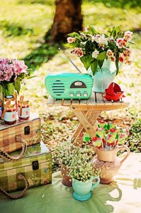 Summer Picnic themed birthday party with So Many Cute Ideas via Kara's Party Ideas | Cake, decor, favors, games, and more! KarasPartyIdeas.com #picnic #picnicparty #partyideas #partyplanning #partydecor #partydesign (6)