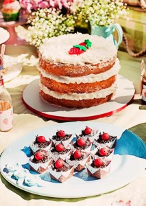 Summer Picnic themed birthday party with So Many Cute Ideas via Kara's Party Ideas | Cake, decor, favors, games, and more! KarasPartyIdeas.com #picnic #picnicparty #partyideas #partyplanning #partydecor #partydesign (26)