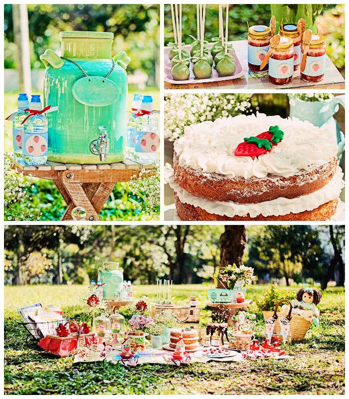 Kara's Party Ideas Summer Picnic Themed Birthday Party Via