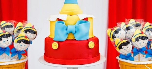 pinocchio themed birthday party via Kara's party ideas karaspartyideas.com