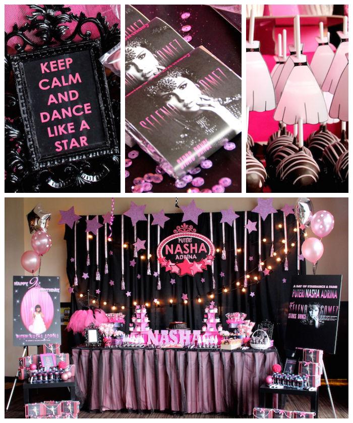Kara\'s Party Ideas » Selena Gomez Rock Star birthday party via ...