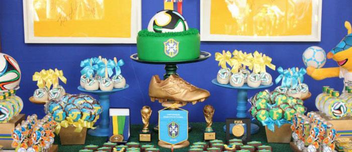 Kara S Party Ideas World Cup Soccer Themed Dessert Table