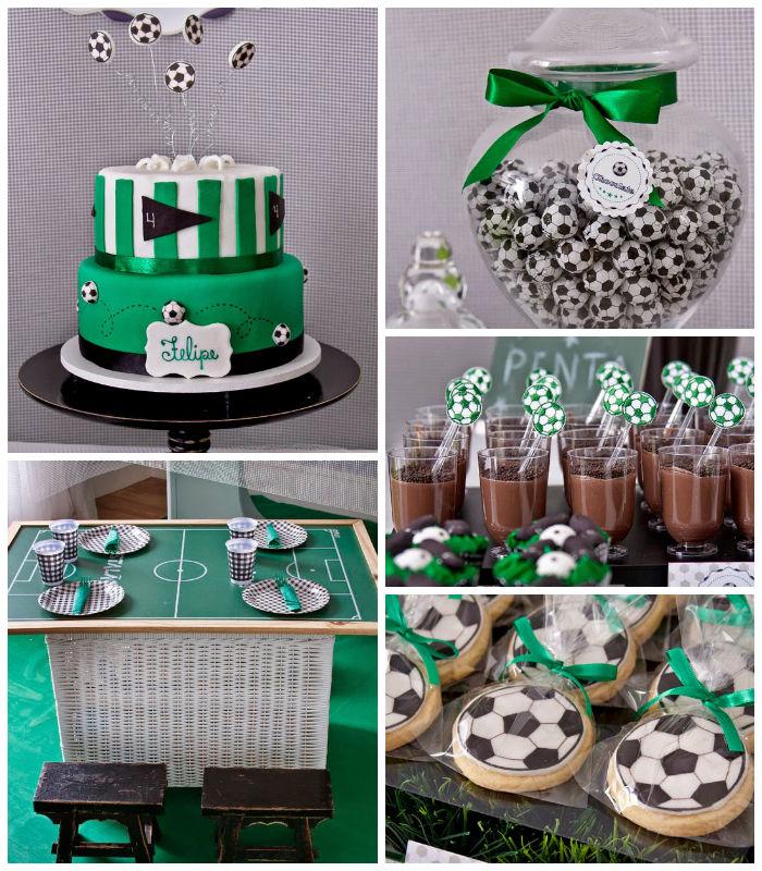 kara 39 s party ideas world cup soccer themed birthday party via kara 39 s party ideas. Black Bedroom Furniture Sets. Home Design Ideas