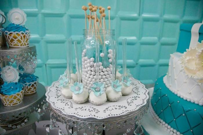 Kara S Party Ideas Tiffany Amp Co Inspired Birthday Party
