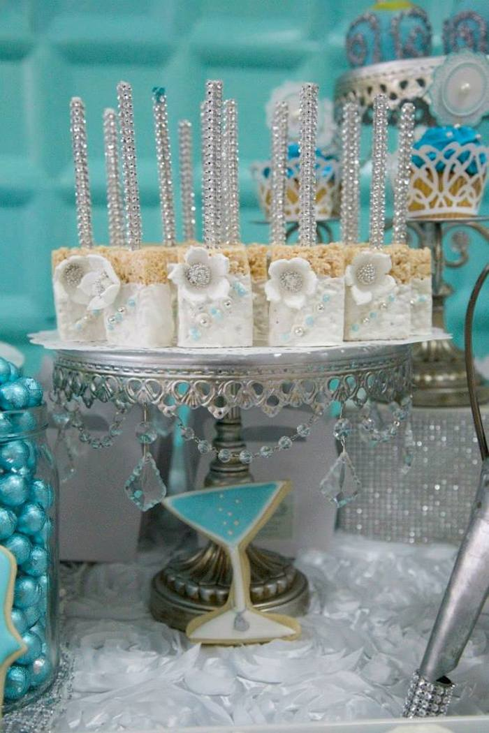 Kara's Party Ideas Tiffany & Co. inspired birthday party ...