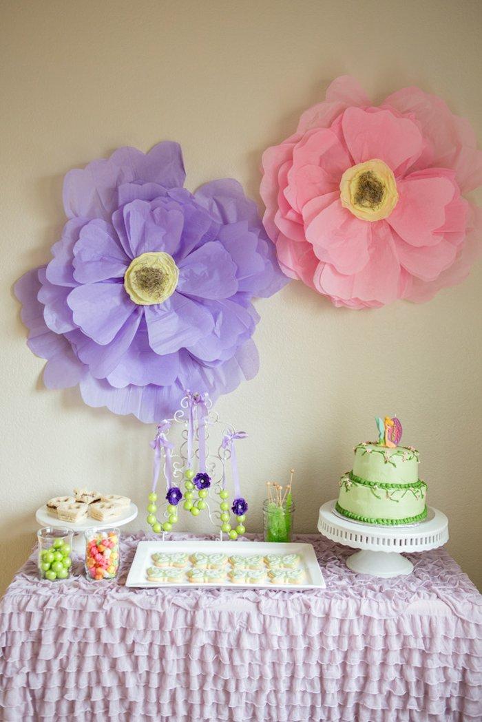 Kara's Party Ideas Tinkerbell + Fairy themed birthday ...