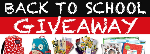 Back to School Giveaway via Kara's Party Ideas KarasPartyIdeas.com