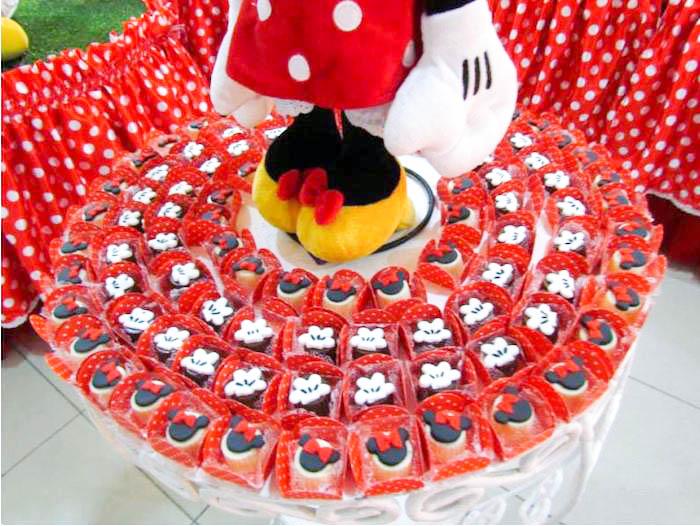 Minnie Mouse Themed Birthday Party Via Karas Ideas KarasPartyIDeas Invitation Food