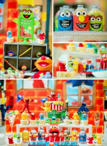 Sesame Street themed birthday party via KAra's Party Ideas KarasPartyIdeas.com #sesamestreetparty #karaspartyideas #partyideas #partyplanning #partydesign (20)