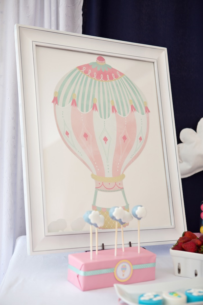 Baby Shower Favors Hot Air Balloons ~ Kara s party ideas hot air balloon themed baby shower via