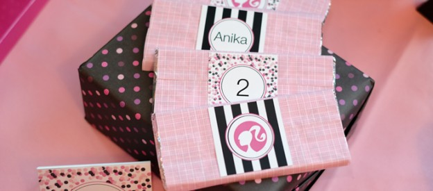 Barbie themed birthday party via Kara's Party Ideas KarasPartyIdeas.com #barbiedoll #barbieparty Cake, decor, supplies, printables, favors, games, and more! (1)