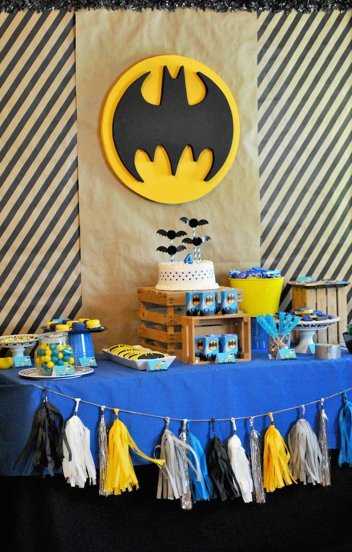 Karas Party Ideas Lego Batman inspired birthday party