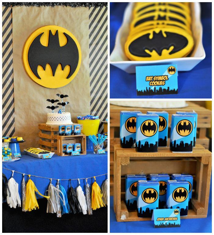 Kara S Party Ideas Lego Batman Inspired Birthday Party Via