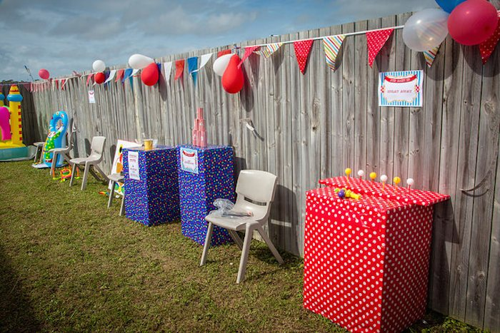 Party Ideas Circus + Carnival Themed