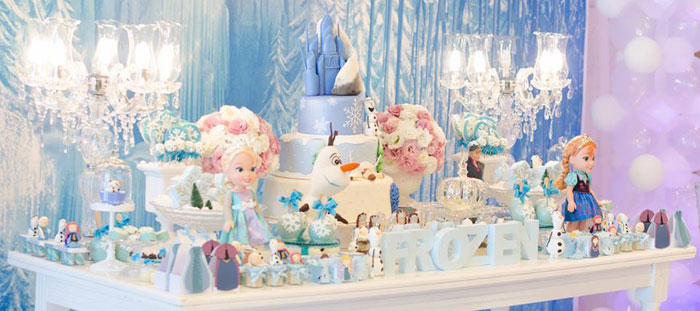 Surprising Frozen Table Setting Ideas Contemporary Best Image