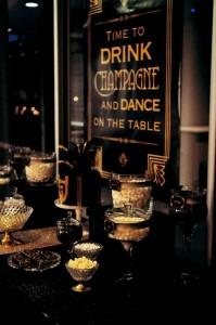 Great Gatsby themed birthday party via Kara's Party Ideas KarasPartyIdeas.com Cakes, printables, favors, desserts, and MORE! #thegreatgatsby #adultbirthdayparty #karasoartyideas (20)