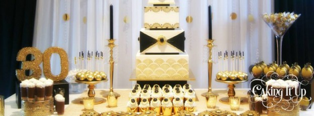 Kara S Party Ideas Great Gatsby Dessert Table Archives