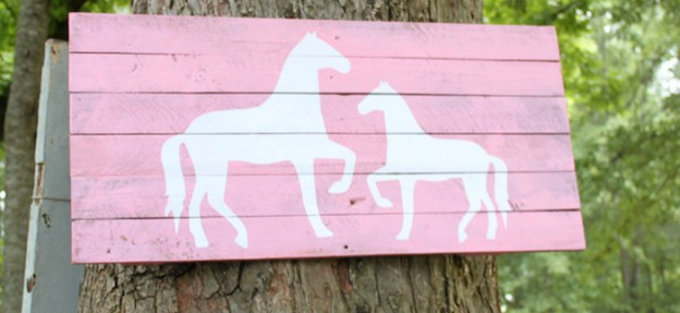 Horse Love themed birthday party via Kara's Party Ideas KarasPartyIdeas.com #ponyparty #horseparty #karaspartyideas (1)
