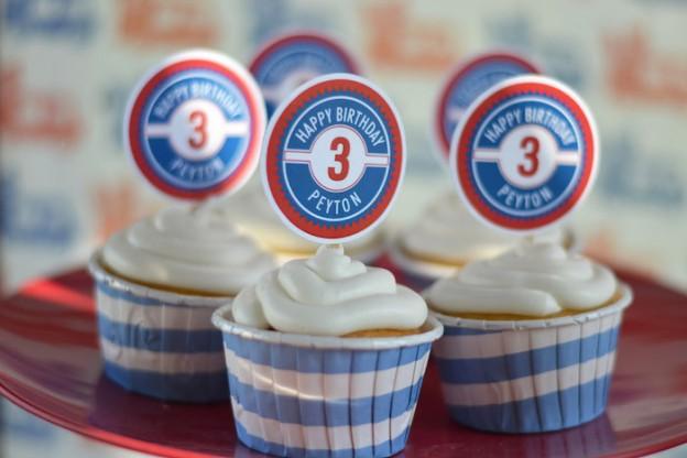 Boy Ice Cream Truck 3rd birthday party via Kara's Party Ideas KarasPartyIdeas.com #icecreamparty #icecreamtruck Invitation, printables, cake, cupcakes, and more! (31)