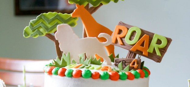 Jungle Safari themed birthday party for a girl via Kara's Party Ideas KarasPartyIdeas.com #jungleparty #karaspartyideas Printables, cupcakes, cake, decor, supplies, etc! (1)